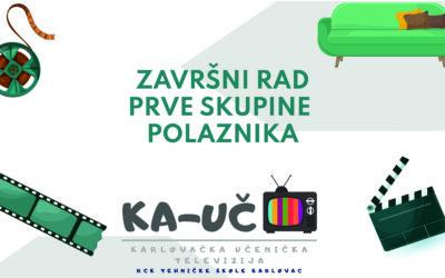Završni rad prve skupine polaznika KA-UČ TV-a