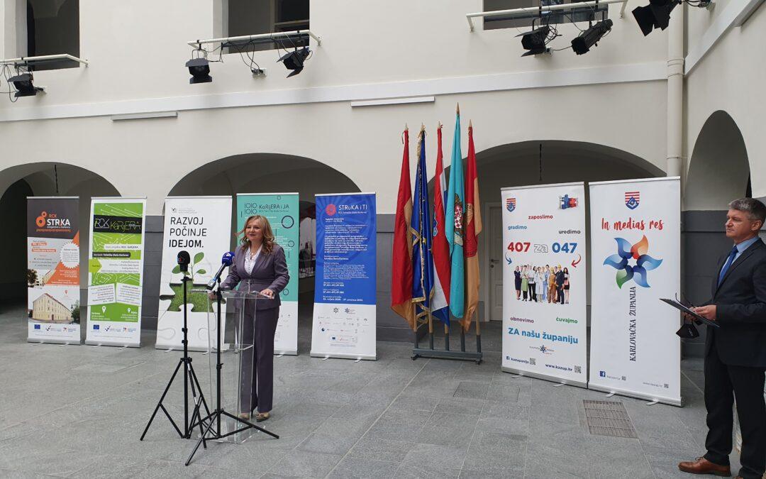 "Održana početna tiskovna konferencija projekta ""STRuKA i TI"""